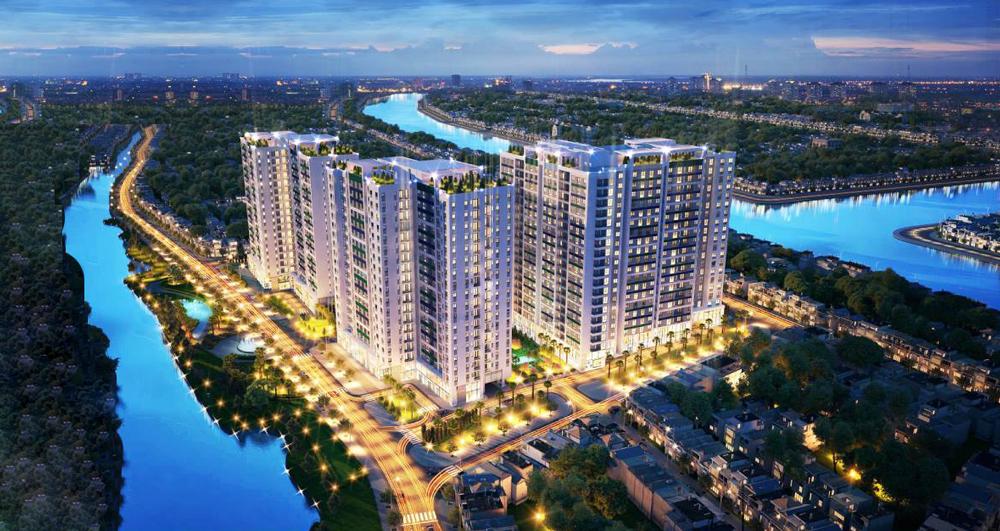 thiết kế căn hộ hado green lane quận 8
