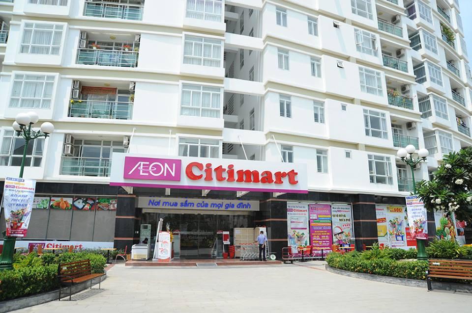 siêu thị city mart của aoen mall tại him lam riverside