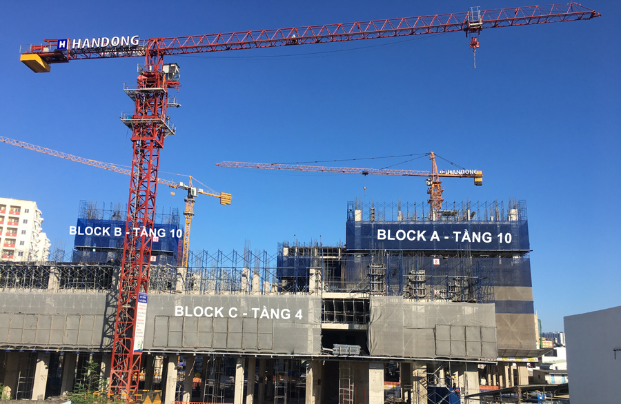 tiến độ xây dựng imperial place bình tân tháng 02/2019