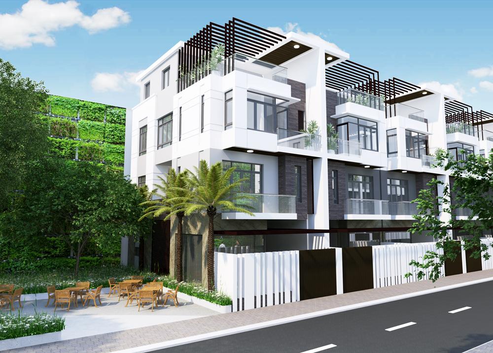 mẫu nhà khu dân cư thiên nam residence